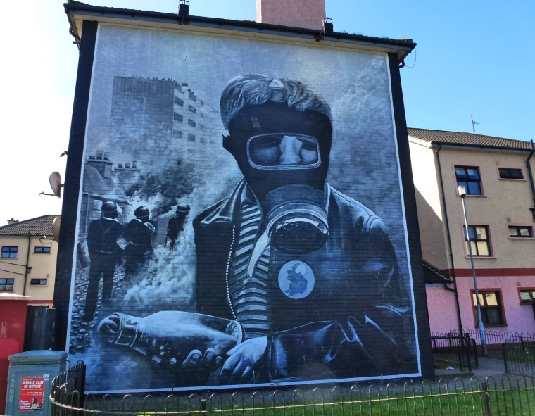 Image result for Derry murals